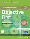 Objective First for Spanish Speakers Student's Pack without Answers (Student's Book with CD-ROM 100 Writing Tips, Workbook with Audio CD) 4th Edition