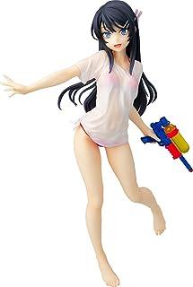 キャラアニ 青春ブタ野郎はバニーガール先輩の夢を見ない 桜島麻衣 水鉄砲デートver. 1/7スケール ABS&PVC製 塗装済み完成品フィギュア