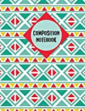 Composition Notebook: Mexican Pattern Notebook College Ruled Journal - Back to School Diary