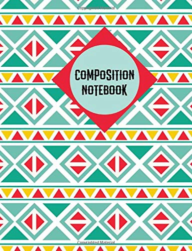 Composition Notebook: Mexican Pattern Notebook College Ruled Journal - Back to School Diary Planner Gift Students Teachers Boys Girls 100 sheets- Add On Item
