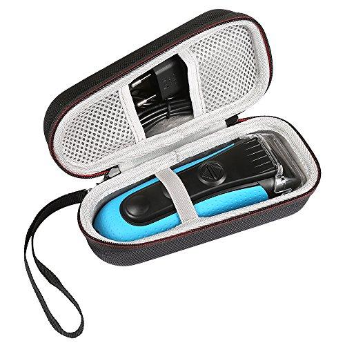 Shucase für Braun Series 3 Elektrischer Rasierer Tasche für 3010BT 3040s 3020 3090cc 340s-4 320s-4 3030s , Braun Series 5 5030s 5147s WF2s 5090cc 5050cc Elektrischer Rasierer Case