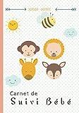 Carnet de Suivi Bébé: Un journal de bord parfait pour un suivi quotidien de votre bébé ( allaitement, sommeil, santé) - idéal pour les futures maman - Super idée cadeau