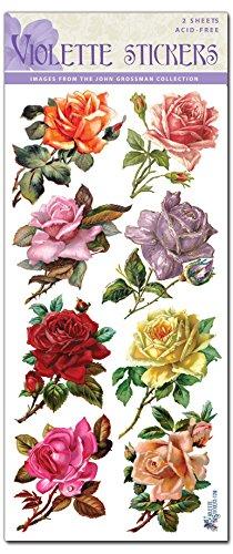 Violette Stickers 8 Rosebuds