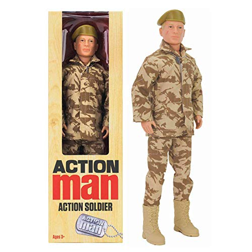 Action Man - ACTION SOLDIER - Nueva figura de edición limitada, celebrando tres de las figuras más populares de todos los tiempos!!