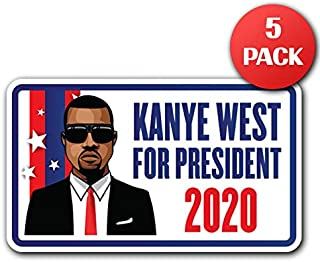 Stop Manbearpig and Kanye for President South Park Bumper Stickers Gayfish andTrey Parker//Matt Stone 2020