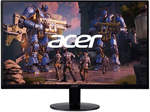 "Acer SB240Y Bbix 23.8"" Full HD (1920 x 1080) Ultra-Thin Zero-Frame IPS Monitor with AMD Radeon FREESYNC Technology and 1ms VRB (HDMI Port & VGA Port), black"