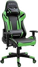 Wideo Fotel Ergonomiczny Krzesło Gaming Computer Krzesło Pu Skórzane Wykonawcze Obrotowe Krzesełko Z Wysokości Podłokietni...