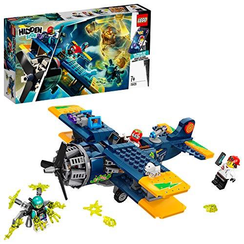 LEGO Hidden Side - Avión Acrobático de El Fuego, Set con A