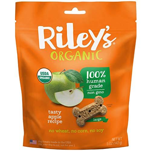 RileyS Organics Apple Bone, Large, 5 Oz.