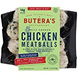 Butera's Spinach & Asiago Cheese Chicken Meatball, 12 Oz. (12 Fully Cooked Meatballs) BUY 4, GET 1 FREE!