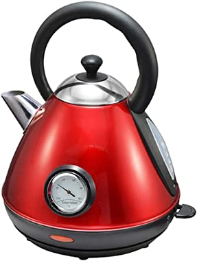 NSHUN 1850Watts Stainless Steel 360°Cordless Electric Kettle Water Boiler Otter Thermostat Control 1.7 Liter 8 Cups Automatic