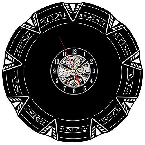 Pop kreative Stargate Schallplatte Wanduhr Persönlichkeit Retro-Dekoration Wohnzimmer Uhr senden Freunde