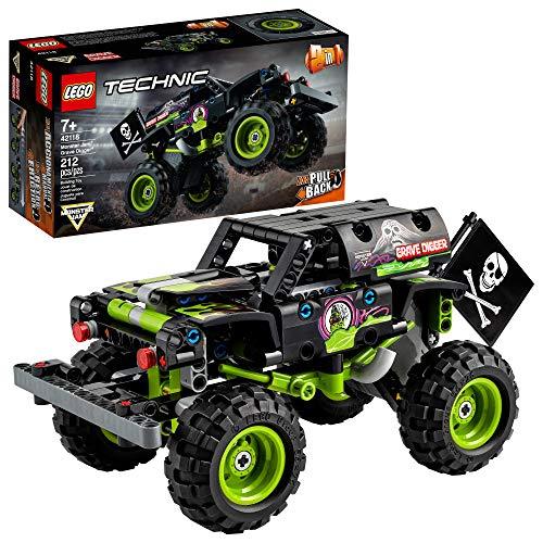 LEGO Technic 42118 - Monster Jam - Grave Digger Truck (212 Piezas) Nuevo 2021