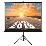 The First Projector Screen with Stand Green Environmental, OWLENZ...