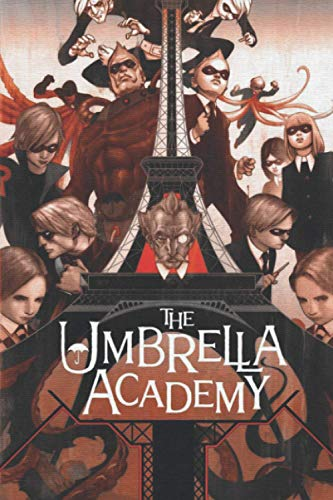 The Umbrella Academy: Notebook / journal Blank Lined Ruled 6x9 120 Pages