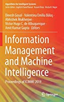 Information Management and Machine Intelligence: Proceedings of ICIMMI 2019 (Algorithms for Intelligent Systems)