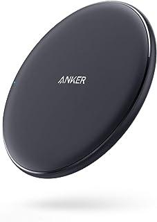 Anker PowerWave 10 Pad(5W / 10W ワイヤレス急速充電器)【Qi認証取得】iPhone XS / XS Max / XR / 8 / 8 Plus、 Galaxy S10 / S10+ / S9 / S9+、その他Qi対応機種各種対応