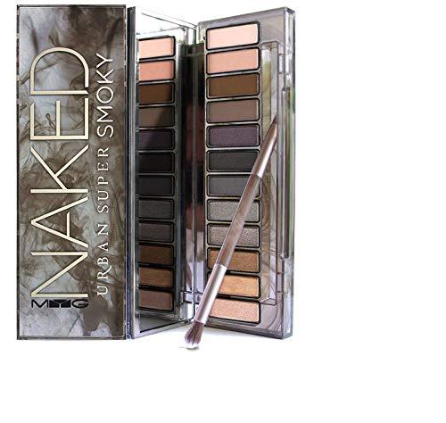Price comparison product image MYG Matte Eyeshadow Palette Makeup Smokey Earth color Long Lasting Nude Eye shadow Pressed Powder Eye Cosmetics