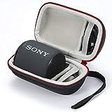 Estuche para Sony SRS-XB10, Estuche rígido para Viaje para Sony SRS-XB10 Estuche portátil Compacto Inalã¡Mbrico. (Solo Estuche, Altavoz y Accesorios no incluidos) - Negro