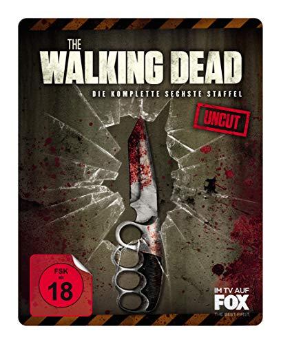 The Walking Dead - Staffel 6 (Uncut) (Steelbook) (+magnetisches 3D Lenticular Cover) [Blu-ray]