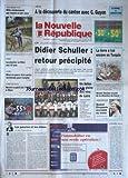 NOUVELLE REPUBLIQUE (LA) [No 17410] du 04/02/2002 - AMBOISE - A LA DECOUVERTE DU CANTON AVEC C. GUYON - DIDIER SCHULLER - RETOUR PRECIPITE - LA TERRE A TUE ENCORE EN TURQUIE - ANGERS - UN SALON A LA GLOIRE DES VINS DE LOIRE - MICHEL DENISOT - QUAND ELISABETH ACCEDAIT AU TRONE - LES PAUVRES ET LES RICHES PAR JEAN-CLAUDE ARBONA.