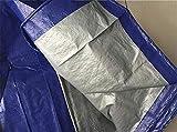 Zuzanny Lona Lona Negra Impermeable Resistente A Los Rayos UV Resistente Al Desgaste Lona Cubierta del Toldo Tela Barcos Multiusos Contratistas Campistas Cubierta-4Mx10M