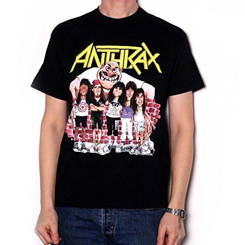 Anthrax T Shirt - State Of Euphoria Group Cartoon 100% Official