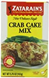 Zatarain's Crab Cake Mix, 5.75 oz (Pack of 12)