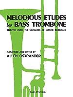 オストランダー: バス・トロンボーンのための旋律的練習曲/カール・フィッシャー社/トロンボーン教本・練習曲