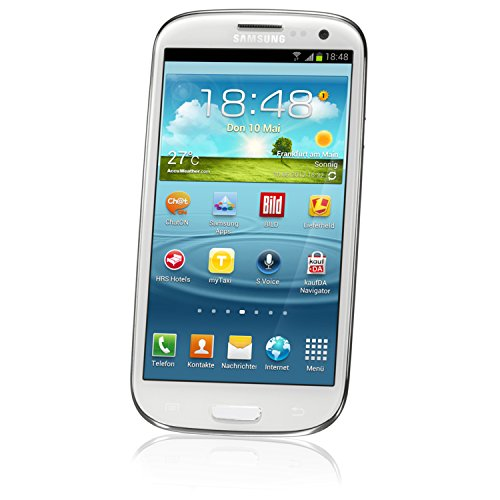 Samsung Galaxy S LLL I9300 Unlocked GSM Phone with 4.8' HD Super AMOLED Screen, 8MP Camera, Android...