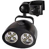 Jkshop Hot Grill Licht mit 10Super Bright LED-Leuchten–Langlebig, wetterbeständig, leistungsstarker LED BBQ Licht für jedes Gas/Holzkohle/Elektro Grill (Schwarz)