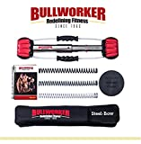 Bullworker 20' Steel Bow - Ganzkörpertraining - Portable Home Gym Isometrische Trainingsgeräte...