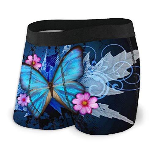 Adamitt Flash Butterfly Men 'S Boxershorts Regelmäßige weiche, atmungsaktive, Bequeme Unterwäsche
