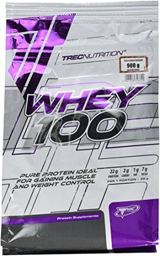 Trec Nutrition Whey 100, Proteinkonzentrat - Geschmack: Schokolade, 900 g
