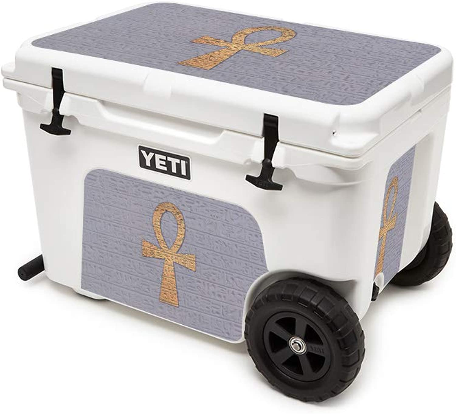 MightySkins Skin Compatible with Yeti Tundra Haul Cooler  Ankh   Predective, Durable, and Unique Vinyl Decal wrap Cover   Easy to Apply, Remove, and Change Styles   Made in The USA