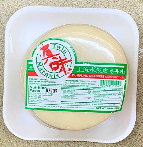 Twin Marquis Shanghai Dumpling Wrapper 16 oz x 2 上海水餃皮