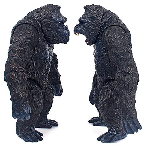 dqwer 2 pz/Set 18 Cm Film King Kong Vs Godzillas Anime Figure King Kong Monster Skull Island Giocattoli per Bambini Modello da Collezione