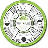 Moon Calendar for Gardeners. Garden in Harmony with Phases of the Moon. Biodynamic Gardening Methods and Old Farmers Almanac use the Lunar Cycle for Planting. 365 Day Perpetual Moon Calendar Guide.