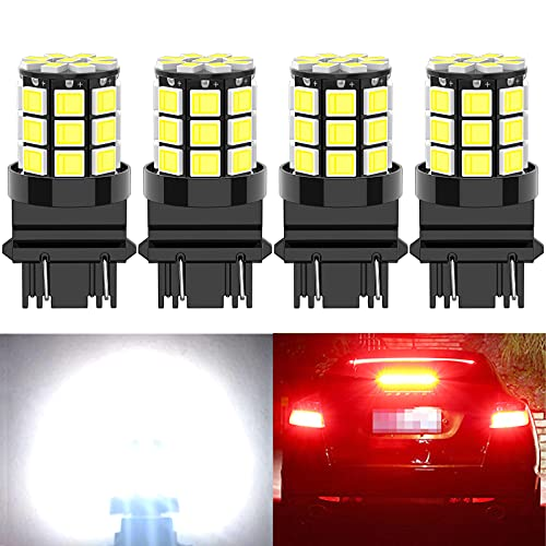 Shuyee 3157 LED Bulb,12V-24V Non-polarity Upgraded 3156 3056 3057 4157 3457 4057 Replacement for...
