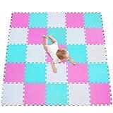 Tappeto Puzzle Bambini Gomma Eva Resistente Isolante Lavabile Gioco per Bambini Tappeto da...