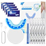 Blanqueador Dental, Nivlan Kit de Blanqueamiento Dental Profesional, con 16 Luces...
