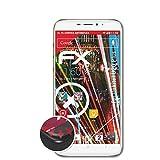 atFolix Schutzfolie kompatibel mit Oukitel U20 Plus Folie, entspiegelnde & Flexible FX Bildschirmschutzfolie (3X)