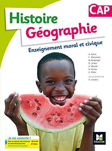 Histoire-Géographie-EMC CAP - Éd. 2017 - Manuel élève