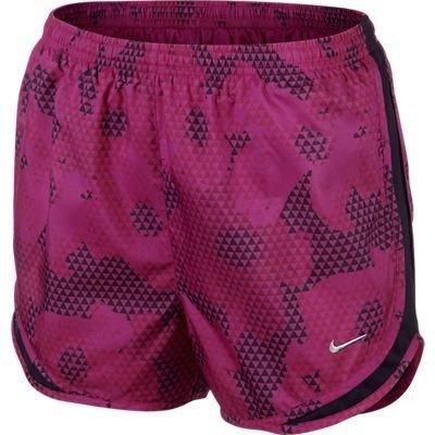 NIKE Short Women Printed Tempo-Pantalones Cortos de Tenis para Mujer (Talla, Color Morado, Unisex, XL Inch