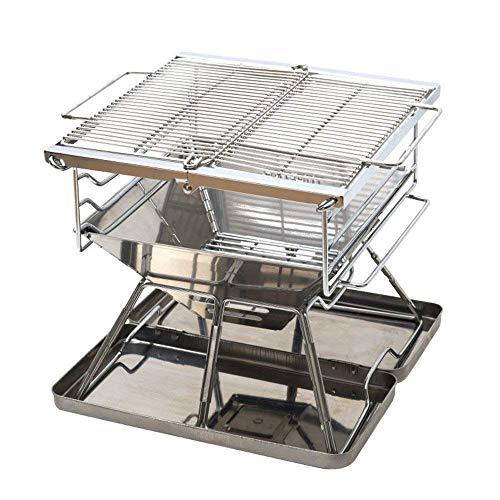 51UpvjQ+hwL - GPWDSN Outdoor Grillzubehör Easy Barbecues Set Klappgrill Herd Klappgrill Leichtgrill Holzkohlegrill ist nicht klebrig Barbecue Outdoor