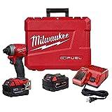 Milwaukee 2853-22 M18 FUEL 1/4' Hex Impact Driver XC Kit