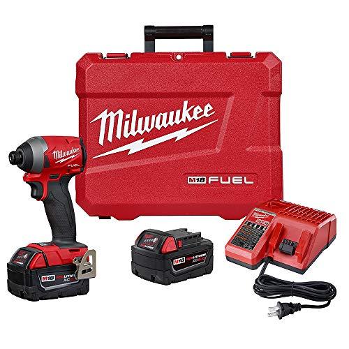 "Milwaukee 2853-22 M18 FUEL 1/4"" Hex Impact Driver XC Kit"