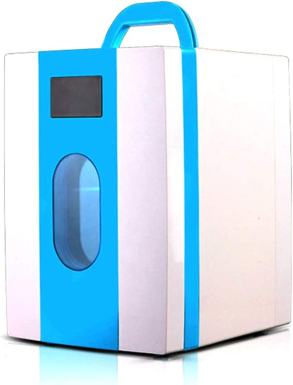 trust half MXMYFZ Portable Refrigerator 10L Desktop Cooling Heating Gift Mi