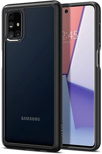 Spigen Ultra Hybrid Back Cover Case For Samsung Galaxy M51 Black