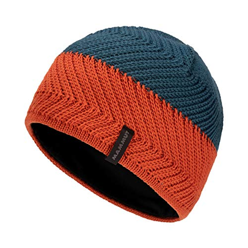 Mammut Alvier Beanie, Wing Teal-Pepper, one Size